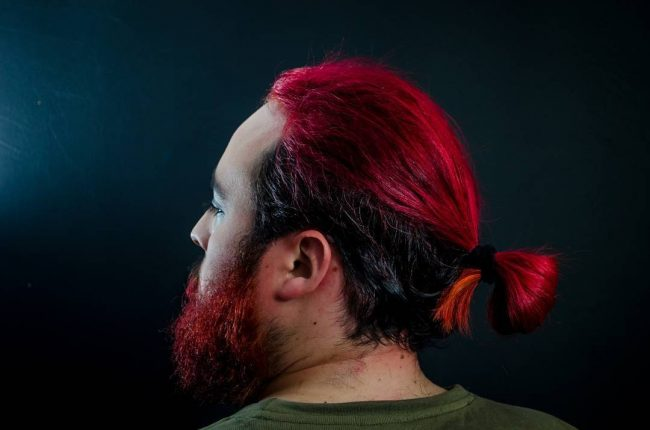long red hair for men