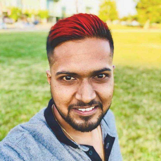 20 Sexiest Guys With Colored Hair Men S Hair Color Ideas 2020