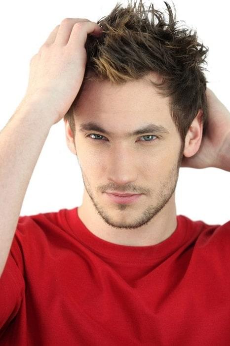 men's highlights for short hair