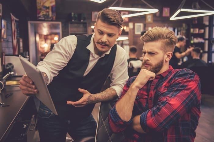 hair consultation for men