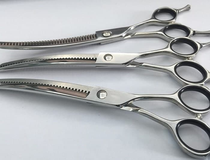 thinning shear for cutting hair