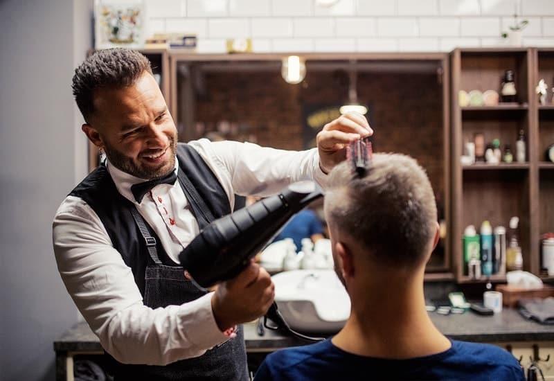 men's hair types
