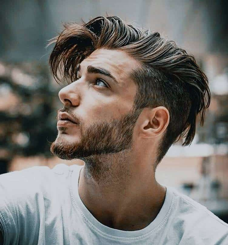 undercut for straight haired guy