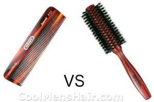 hair comb vs brush