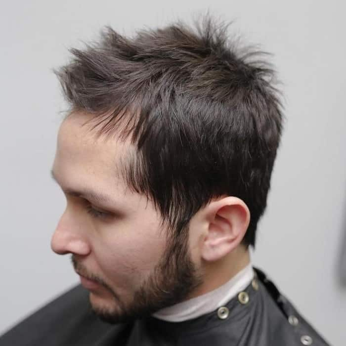 textured haircuts for balding men