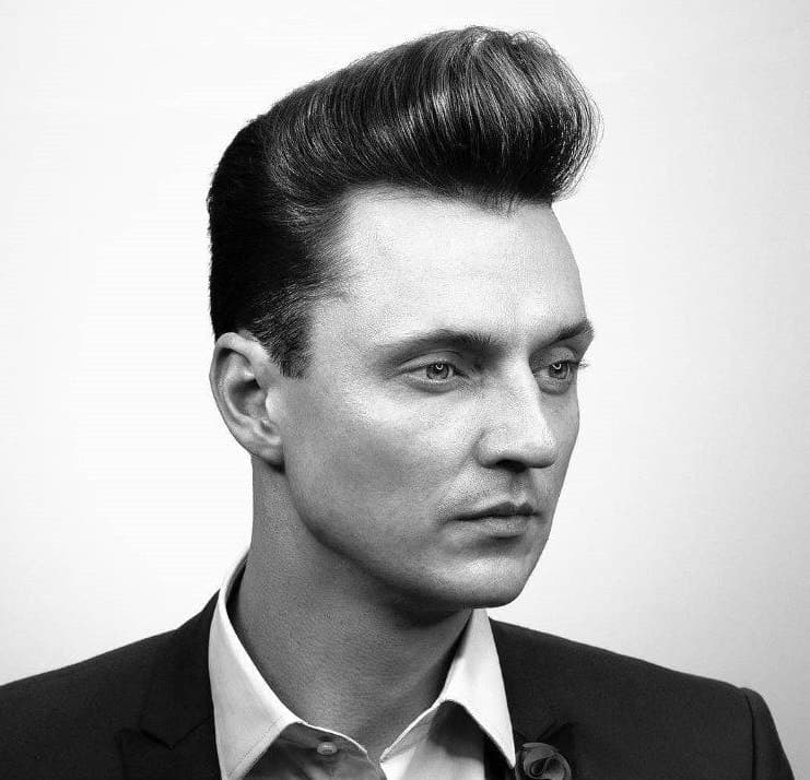 vintage style business haircut