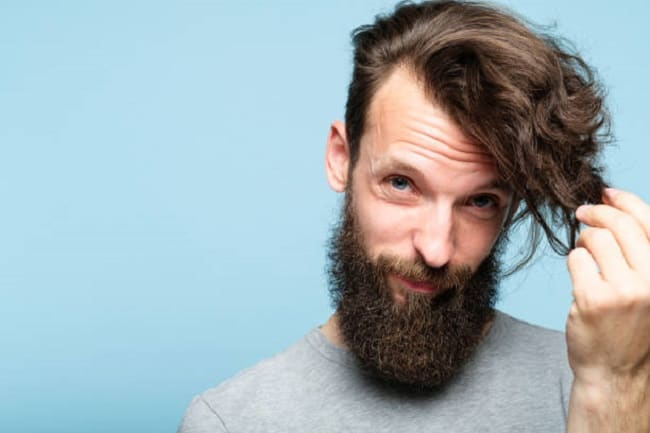 How to Get & Style Wavy Hair for Men