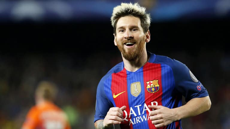 Lionel Messi's Blonde Hairstyle