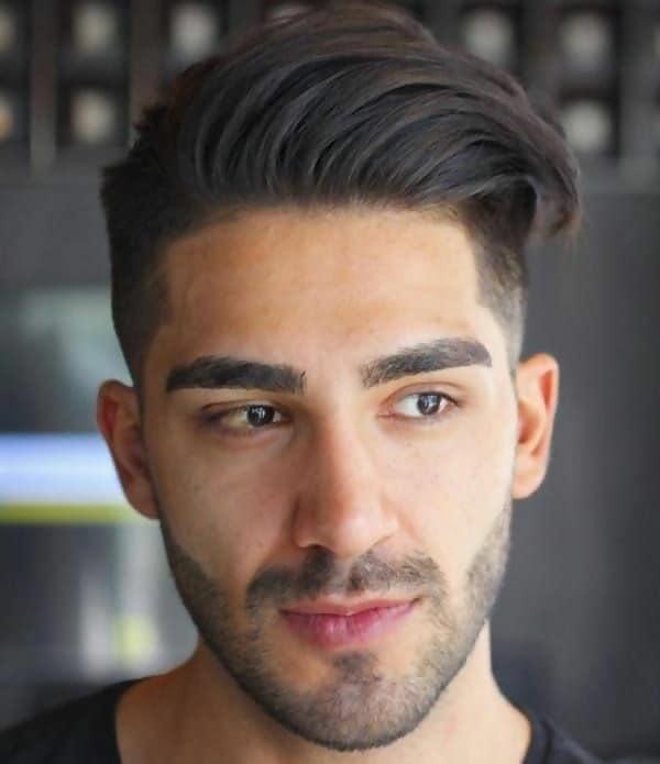 Textured Straight Hair for Men