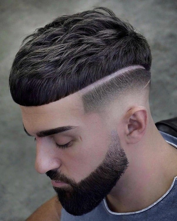 guy with thick hairstyle