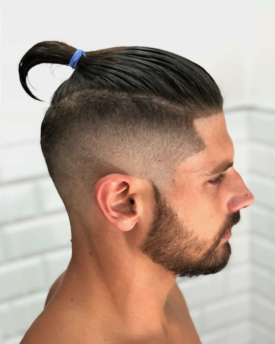 Ponytail for Men with Thick Hair