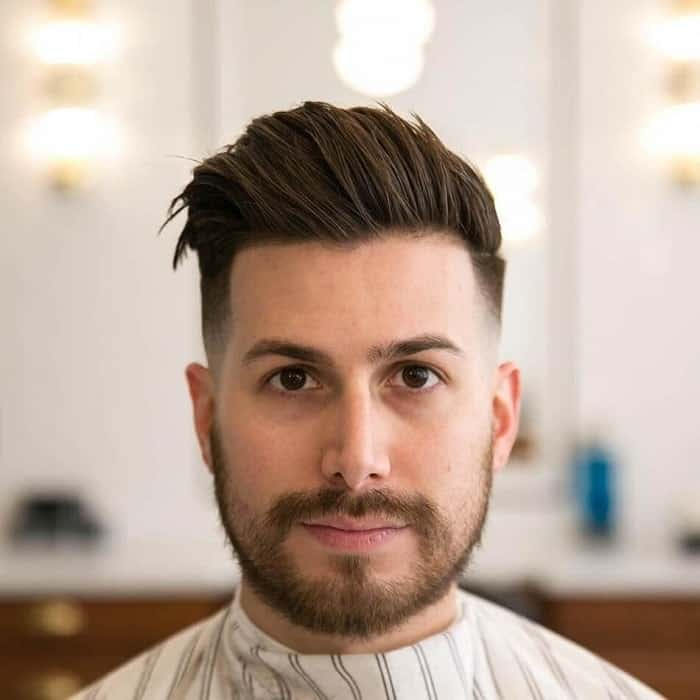 25 Best Hairstyles for Men with Chubby Round Face Shapes [2020]