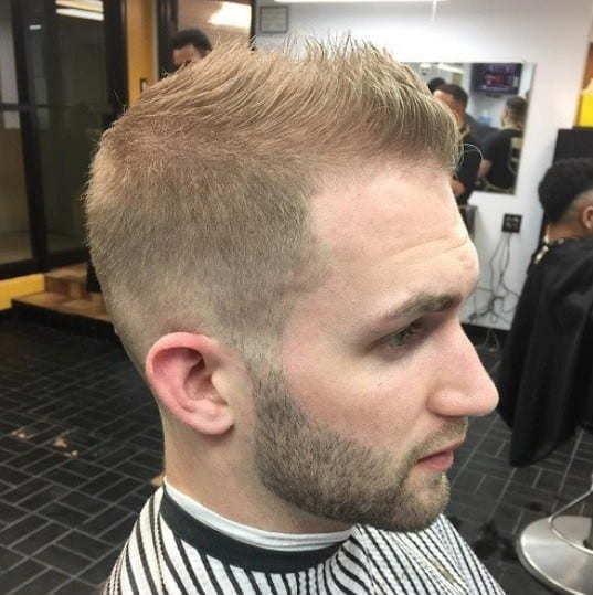 men's hairstyle for thinning hair on crown