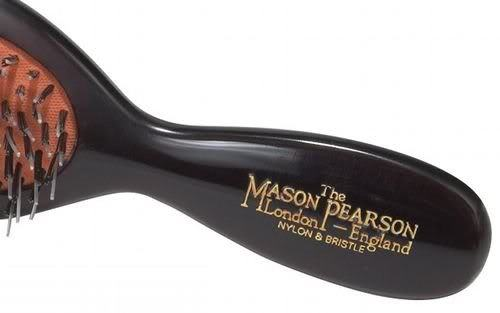 Image of Mason Pearson handle.