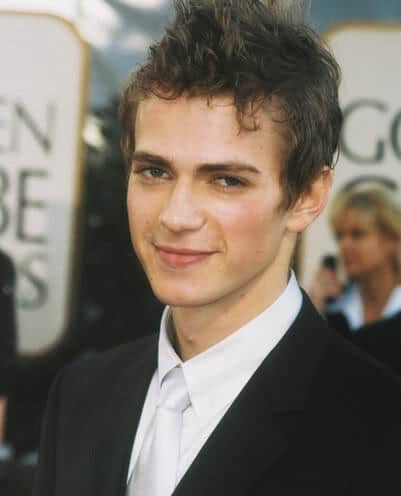 fauxhawk hairstyle from Hayden Christensen.