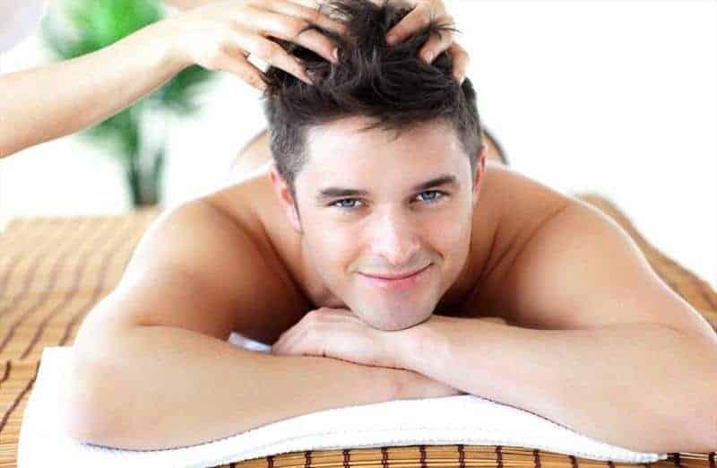 head scalp massage