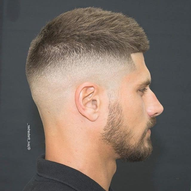 high and tight with drop fade