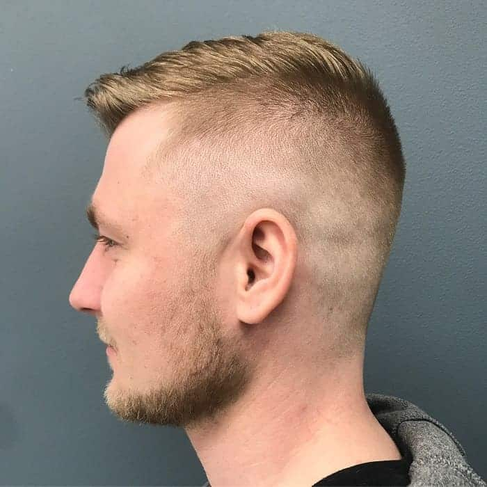 high and tight fade for men