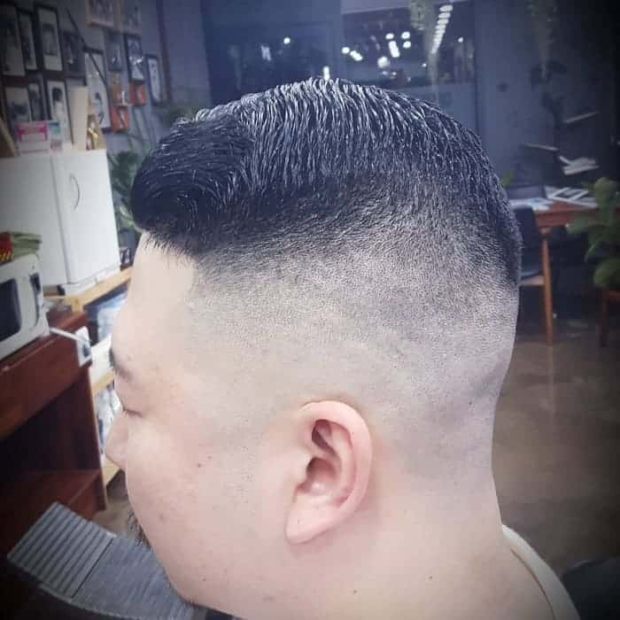 high and tight fade hair