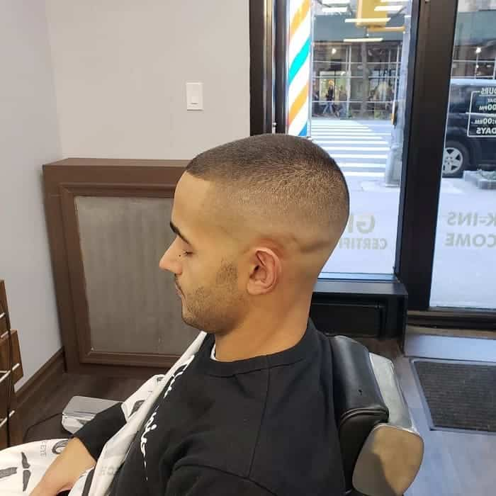 short high and tight fade