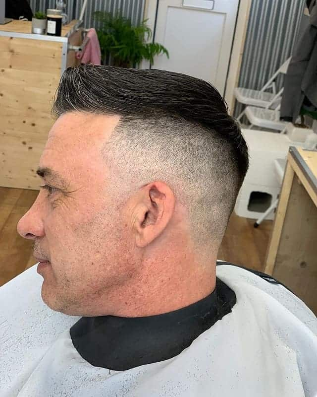 high and tight with mid fade