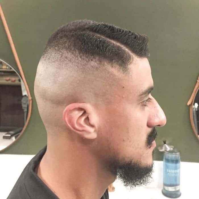 high bald fade for men