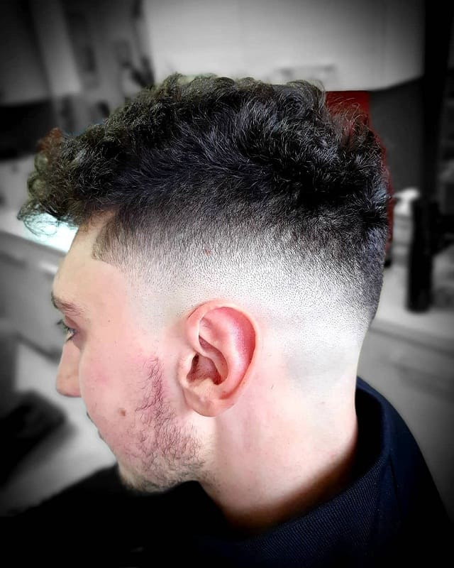 high drop fade haircut