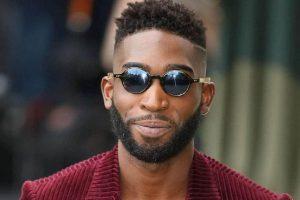high fade haircut for black men