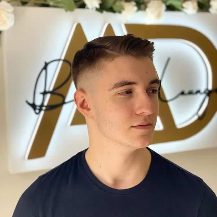 high fade haircuts for men with short hair