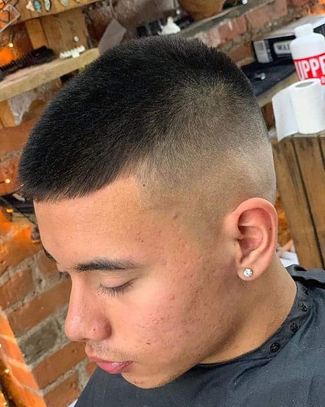 high shadow skin fade