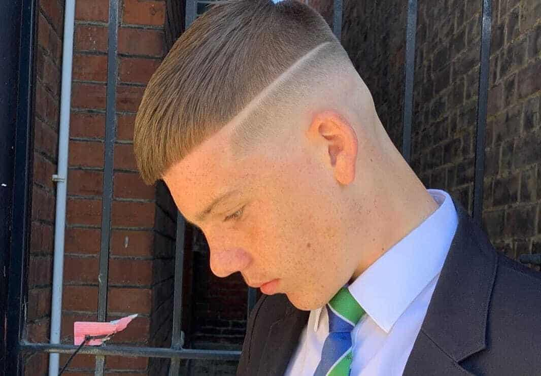 high skin fade haircut