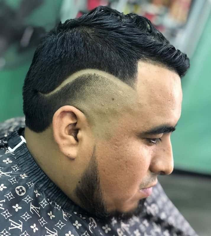 high temp fade haircuts for men