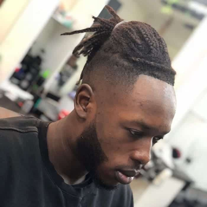 18 Amazing High Top Fade Dreads For Men To Revamp Their Look