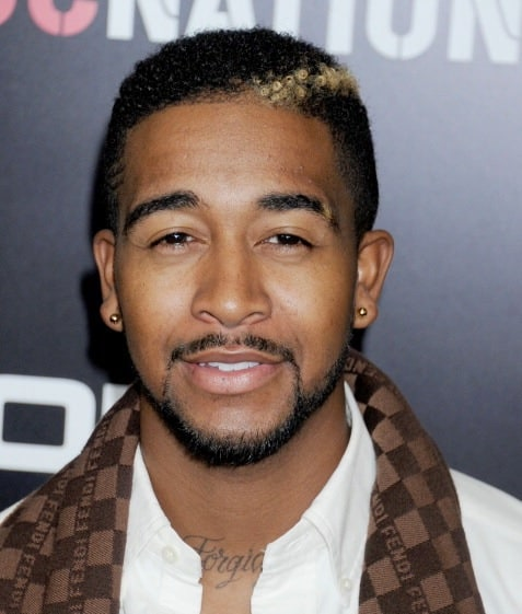 Omarion's highlighted hairstyle