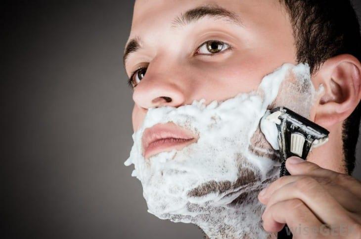 shave often to darken facial hair