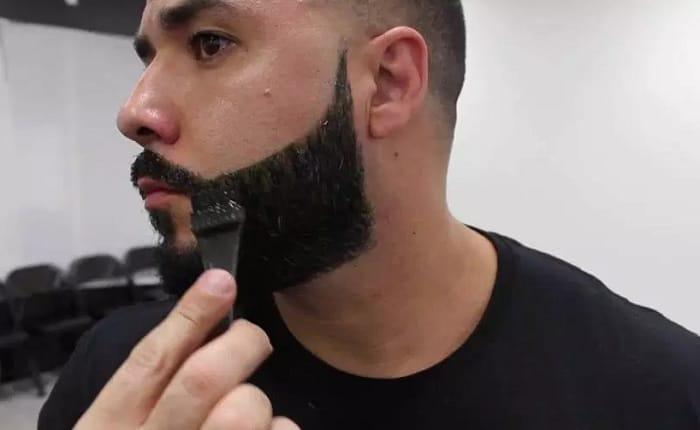 using hair dye to darken beard