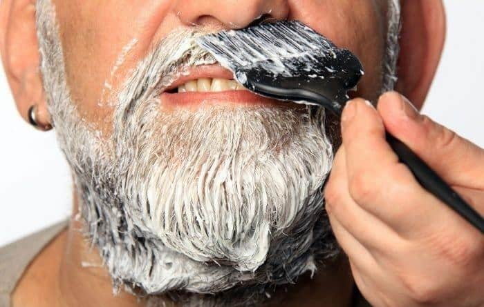 commercial dyes used for darkening beard