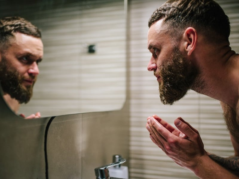 how to shave beard using hair conditioner