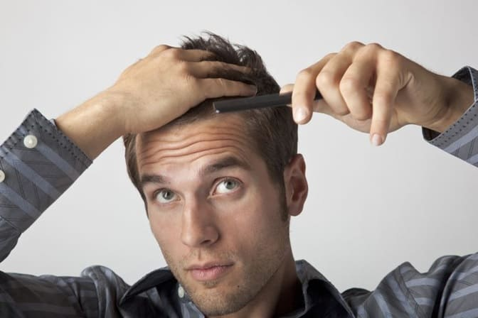 flatten your cowlick to style