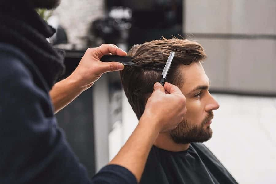 how to texturize mens hair