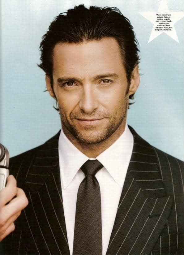 Hugh Jackman Hairstyles Cool Mens Hair