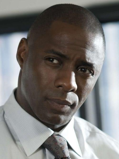 Photo of Idris Elba hairstyle.