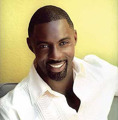 Photo of Idris Elba facial hair.