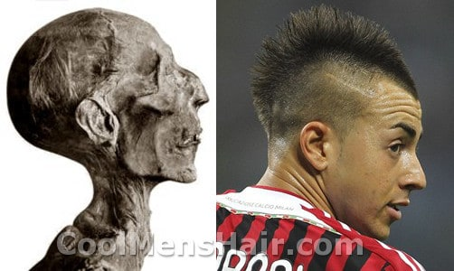 Photo of Il Faraone hairstyle.