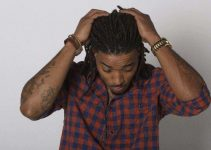 interlocking dreadlock styles for men