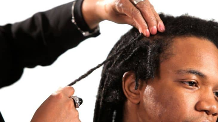 How to Interlock Dreads