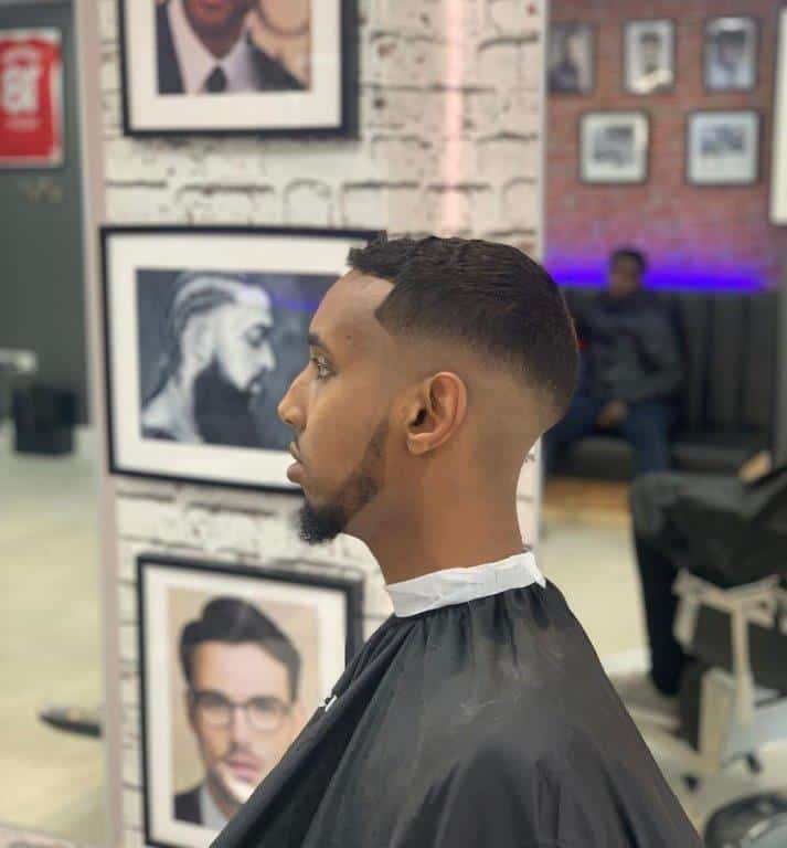 ivy league crew cut with flat top
