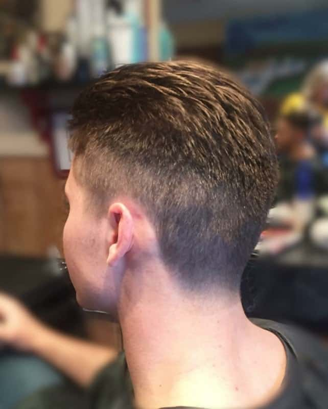 ivy league haircut for military