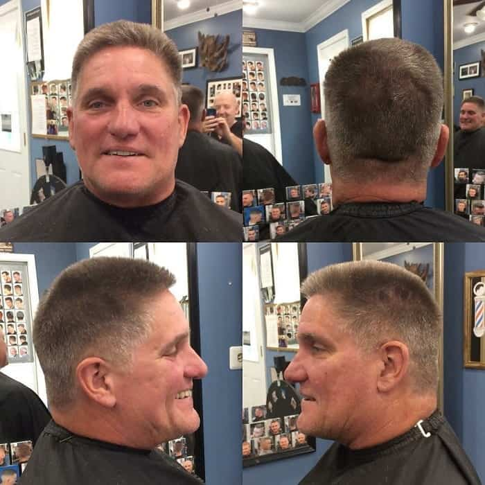 ivy league haircut for receding hairline