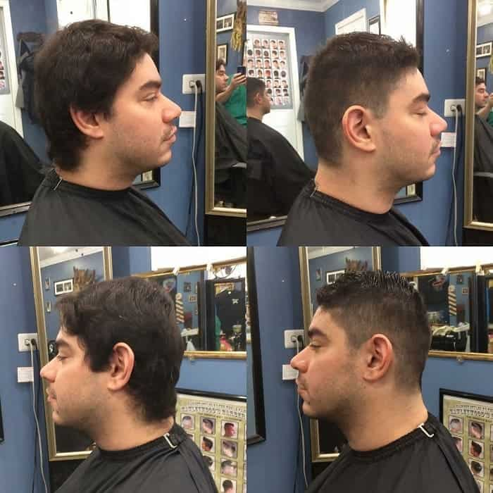 comb over ivy league haircut
